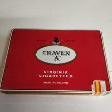 Paquetes de tabaco: CAJA METÁLICA CIGARRILLOS GRAVEN A. Lote 254005680