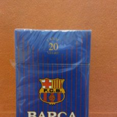 Paquets de cigarettes: BARÇA. F.C.B. 20 TABAC NEGRE.. Lote 254140850