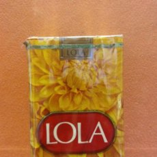 Paquets de cigarettes: PAQUETE DE TABACO. LOLA. 20 CIGARRILLOS RUBIOS - FILTRO. TABACALERA S.A.. Lote 254143325