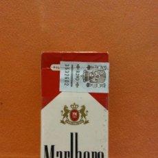 Paquetes de tabaco: CAJA DE TABACOS. MARLBORO. NO CONTIENE TABACO. Lote 254153030