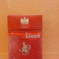 Paquetes de tabaco: CAJA DE TABACOS. AMERICAN BLEND. NO CONTIENE TABACO. Lote 254153140