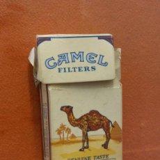 Paquetes de tabaco: CAJA DE TABACOS. CAMEL FILTERS. TURKISH & DOMESTIC BLEND. NO CONTIENE TABACO. Lote 254154025