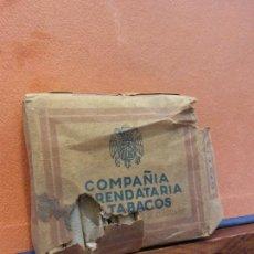 Paquetes de tabaco: PAQUETE DE TABACOS. COMPAÑÍA ARRENDATARIA DE TABACOS. 20 CIGARRILLOS. VER ESTADO EN FOTOS. Lote 254154315