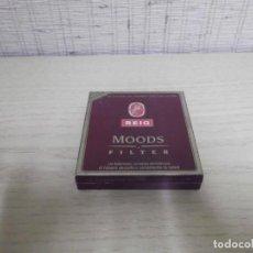 Paquetes de tabaco: CAJA DE CIGARRITOS AROMÁTICOS Y 4 CIGARRITOS.REIG MOODS. Lote 258985560