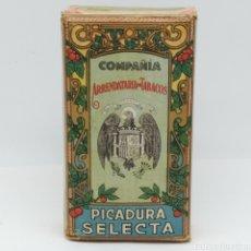Paquetes de tabaco: ANTIGUO PAQUETE PICADURA SELECTA. ARRENDATARIA DE TABACOS, AÑOS 40. SIN ABRIR. ÁGUILA DE SAN JUAN.. Lote 261974295