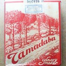 Paquetes de tabaco: 1 ANTIGUA ('60S) CAJETILLA CON CIGARRILLOS - NUNCA ABIERTA - 'TAMADABA' (PAPEL-ROJA). Lote 54843092