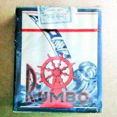 Paquetes de tabaco: 1 ANTIGUA ('60S-'70S) CAJETILLA CON CIGARRILLOS - NUNCA ABIERTA - 'RUMBO'. Lote 72271607