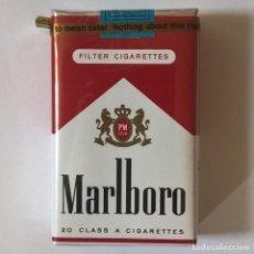 Paquetes de tabaco: PAQUETE DE TABACO CAJETILLA DE 20 CIGARRILLOS - PRECINTADA SIN ABRIR MARLBORO SOFT PACK MADE IN USA. Lote 262897040