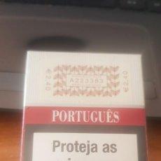 Paquetes de tabaco: PAQUETE DE TABACO LLENO CON PRECINTO ORIGINAL , COLECCION PARTICULAR. Lote 263035595