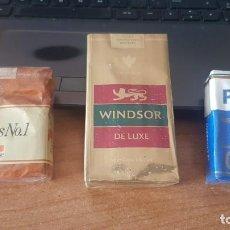 Paquetes de tabaco: PAQUETE DE TABACO LLENO CON PRECINTO ORIGINAL , COLECCION PARTICULAR. Lote 263149530