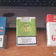 Paquetes de tabaco: PAQUETE DE TABACO LLENO CON PRECINTO ORIGINAL , COLECCION PARTICULAR. Lote 263149780