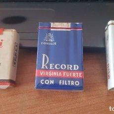Paquetes de tabaco: PAQUETE DE TABACO LLENO CON PRECINTO ORIGINAL , COLECCION PARTICULAR. Lote 263149895