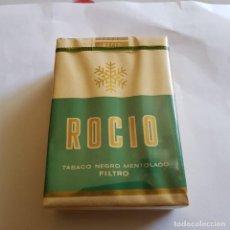 Paquetes de tabaco: PAQUETE DE TABACO ROCIO MENTOLADO (PRECINTADO). Lote 264350294