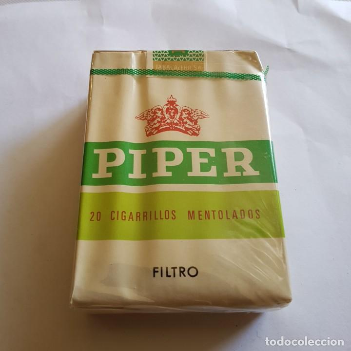 PAQUETE DE TABACO PIPER MENTOLADO (PRECINTADO) (Coleccionismo - Objetos para Fumar - Paquetes de tabaco)
