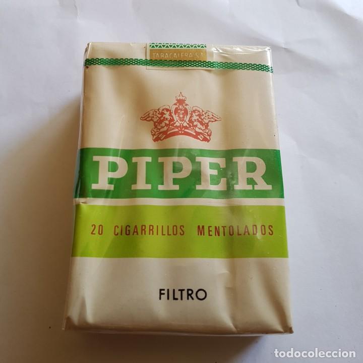 Paquetes de tabaco: PAQUETE DE TABACO PIPER MENTOLADO (PRECINTADO) - Foto 2 - 264350509