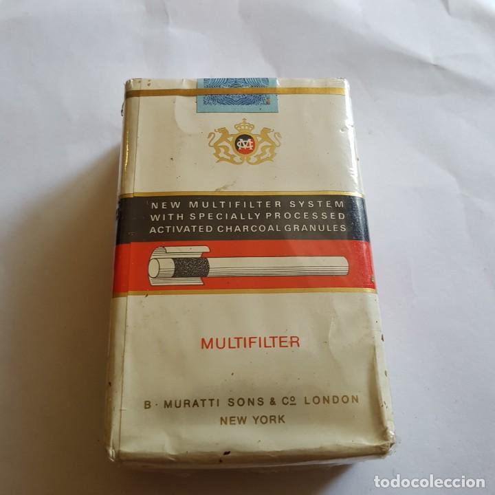 Paquetes de tabaco: PAQUETE DE TABACO MURATTI AMBASSADOR (PRECINTADO) - Foto 2 - 264350814