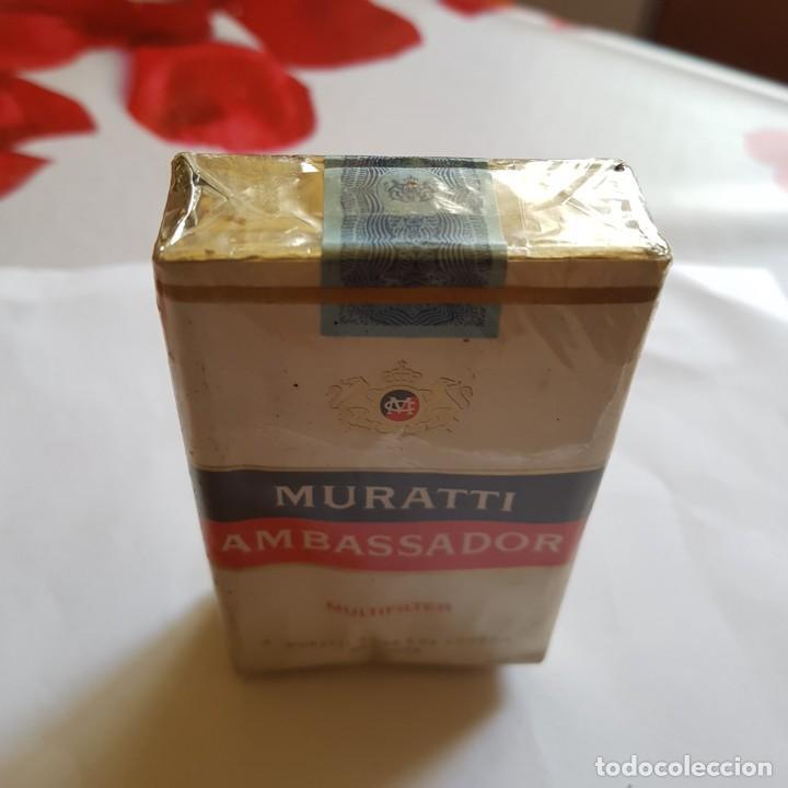 Paquetes de tabaco: PAQUETE DE TABACO MURATTI AMBASSADOR (PRECINTADO) - Foto 3 - 264350814