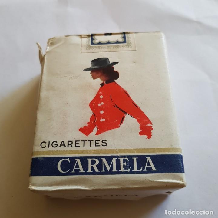 PAQUETE DE TABACO CARMELA (PRECINTADO) (Coleccionismo - Objetos para Fumar - Paquetes de tabaco)