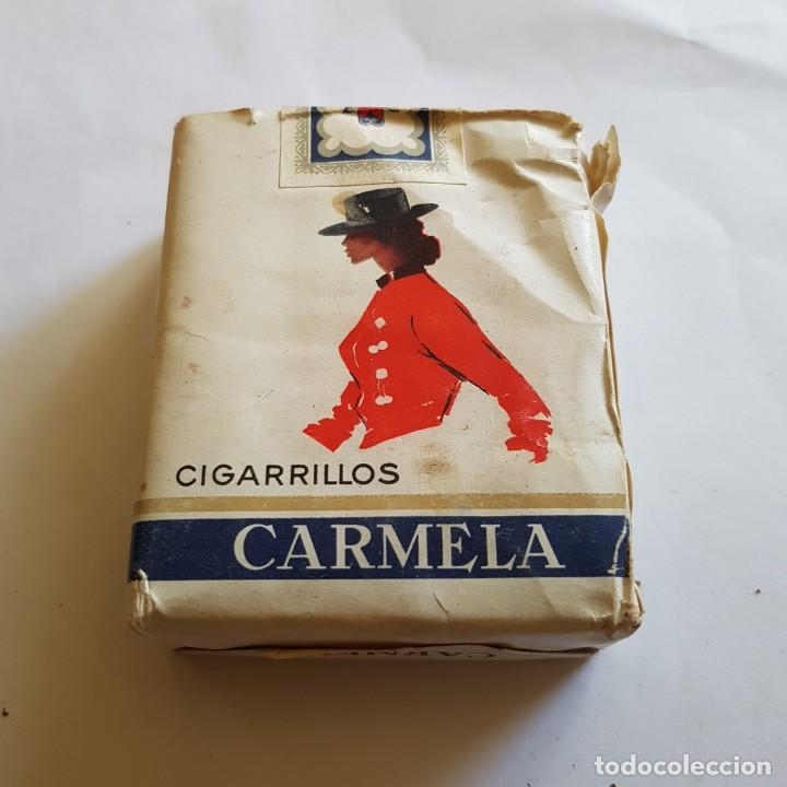 Paquetes de tabaco: PAQUETE DE TABACO CARMELA (PRECINTADO) - Foto 2 - 264354869