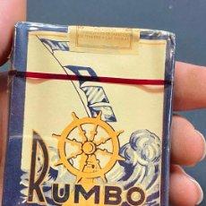 Paquets de cigarettes: CAJETILLA CON CIGARRILLOS - NUNCA ABIERTA - 'RUMBO'. Lote 264429639