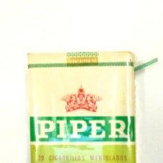 Paquets de cigarettes: CIGARRILLOS PIPER , PRECINTADOS. Lote 265841929