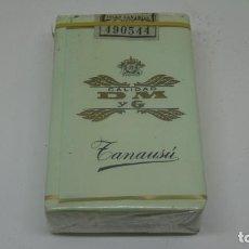 Paquetes de tabaco: ANTIGUO PAQUETE DE TABACO CALIDAD DM Y G . ZANAUSÚ . CON PRECINTO. Lote 265910788