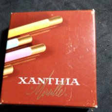 Paquetes de tabaco: ANTIGUO PAQUETE DE TABACO * XANTHIA MIREILLE * CON 16 CIGARILLOS. Lote 268432644