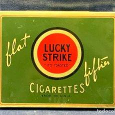 Paquetes de tabaco: PITILLERA CIGARETTES FACTORY 30 LUCKY STRIKE BRITISH AMERICAN TOBACCO CO LTD 11X14,5CM. Lote 271606733