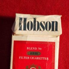 Paquetes de tabaco: PAQUETE DE TABACO. MARCA HOBSON CARTON VACIO. Lote 272707428