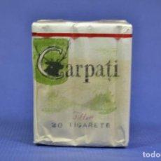 Maços de tabaco: ANTIGUO PAQUETE DE TABACO LLENO CARPATI. Lote 275582133
