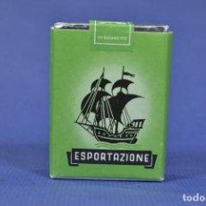 Maços de tabaco: ANTIGUO PAQUETE DE TABACO LLENO MARCA ESPORTAZIONE. Lote 275657543