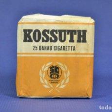 Maços de tabaco: ANTIGUO PAQUETE DE TABACO INDONESIO LLENO MARCA KOSSUTH. Lote 275666093