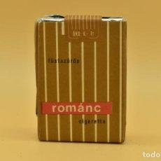 Maços de tabaco: ANTIGUO PAQUETE DE TABACO LLENO DE LA MARCA ROMÀNC. Lote 275909678