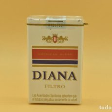 Maços de tabaco: ANTIGUO PAQUETE DE TABACO LLENO DE LA MARCA DIANA. Lote 275911033