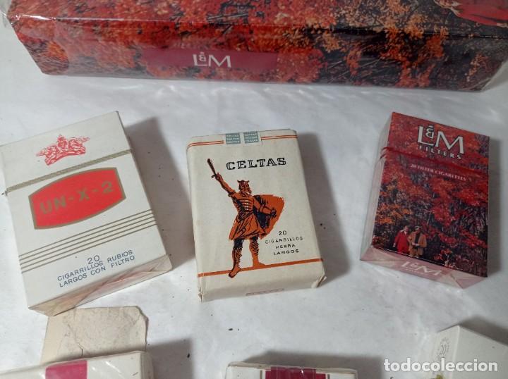 Paquetes de tabaco: lote paquete paquetes tabaco tabacos cigarros cigarrillos varias marcas. Original no copia. Ref.auto - Foto 3 - 277251708