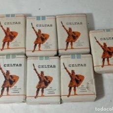 Paquetes de tabaco: LOTE CIGARRO CIGARRILLOS PAQUETE PAQUETES TABACO CELTAS. ORIGINAL NO COPIA. REF.AUTO. Lote 277251768
