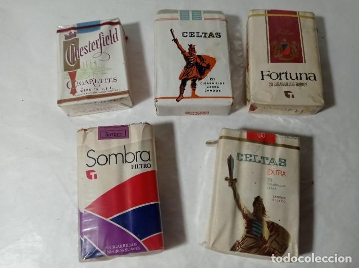 LOTE PAQUETE PAQUETES TABACO CIGARROS CIGARRILLOS.ORIGINAL NO COPIA. REF.AUTO (Coleccionismo - Objetos para Fumar - Paquetes de tabaco)