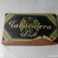 Paquetes de tabaco: ANTIGUO PAQUETE DE TABACO TABACALERA S.A. ORIGINAL NO COPIA. REF.AUTO. Lote 277252483