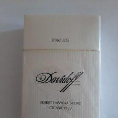 Paquetes de tabaco: CAJETILLA DE TABACO MARCA DAVIDOFF. Lote 286646823