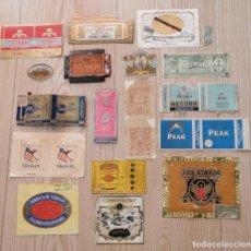 Paquets de cigarettes: LOTE DE 18 ENVOLTORIOS DE TABACO – VER FOTOS. Lote 286647953