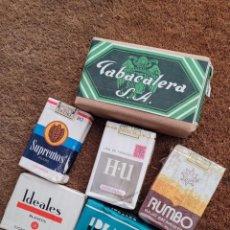 Paquetes de tabaco: LOTE ANTIGUO TABACO. Lote 287694798
