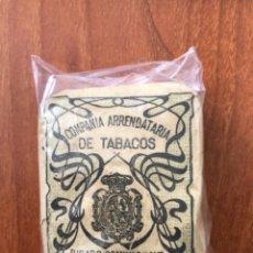 Paquetes de tabaco: ANTIGUO PAQUETE DE TABACO DE COMPAÑÍA ARRENDATARIOS DE TABACOS. Lote 288139843