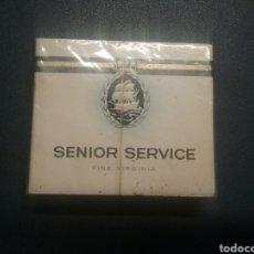 Paquetes de tabaco: PAQUETES DE TABACO ANTIGUO SENIOR SERVICE. Lote 288221088