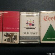 Paquetes de tabaco: PAQUETES DE TABACO ANTIGUO CECIL WAYAS Y CECIL. Lote 288223413