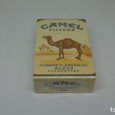 Paquetes de tabaco: ANTIGUO PAQUETE DE TABACO CAMEL FILTERS . CON PRECINTO. Lote 288475563