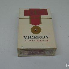 Paquetes de tabaco: ANTIGUO PAQUETE DE TABACO VICEROY . CON PRECINTO .. Lote 288476383