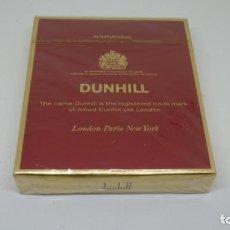 Paquetes de tabaco: ANTIGUO PAQUETE DE TABACO DUNHILL . COLOR ROJO . CON PRECINTO. Lote 288479283