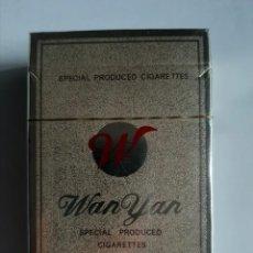 Paquetes de tabaco: CAJETILLA DE TABACO MARCA WAN YAR. Lote 288515933