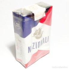 Paquetes de tabaco: PAQUETE DE TABACO PRECINTADO SIN ABRIR. MARCA NAZIONALI. ITALIA. 20 CIGARRILLOS. SIGO XX.. Lote 292614923