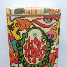 Maços de tabaco: ANTIGUO PAQUETE DE TABACO HIPPY 20 CIGARRILLOS MENTOL FILTRO. PRECINTADO CON SELLO IMPUESTOS ESPAÑOL. Lote 293322018